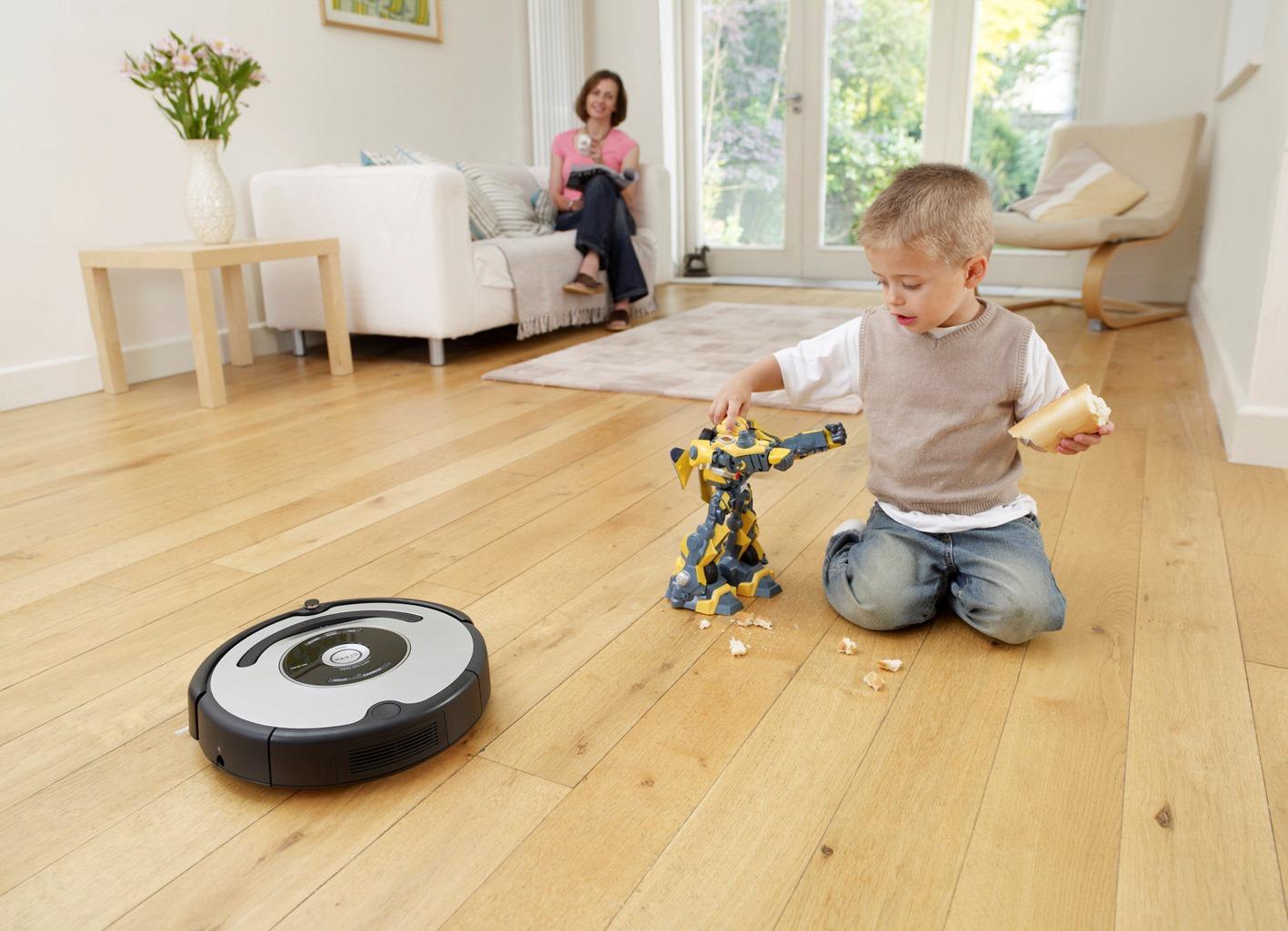Робот-пылесос для уборки