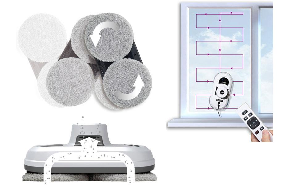 Робот мойщик Hobot-188: принцип работы, особенности