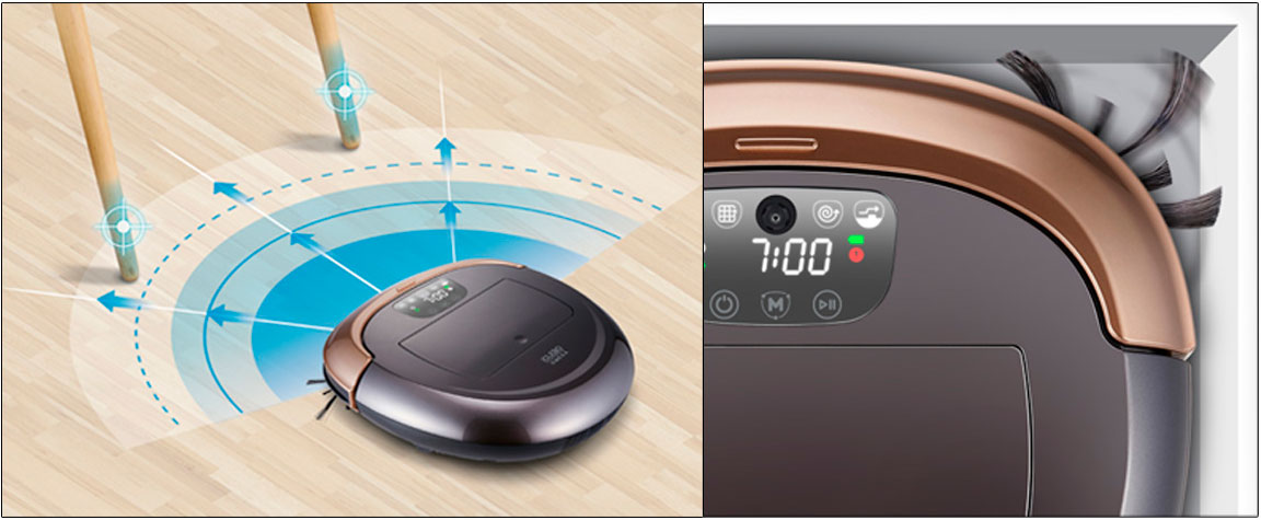 Технология улучшенного распознавания препятствий Smart Sensing